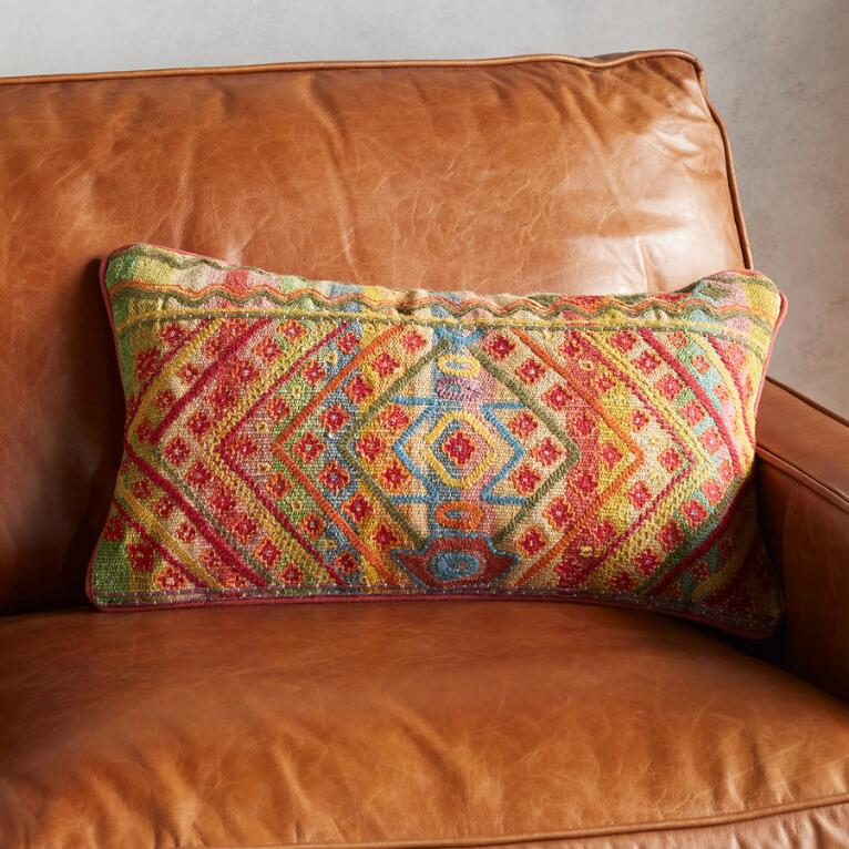 RED CHIARA PILLOW