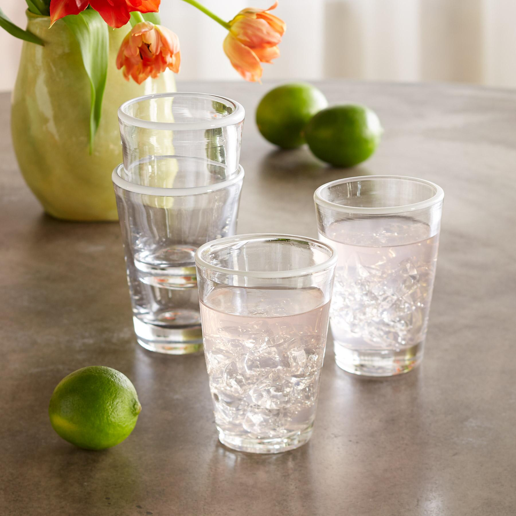 CLOUD RIM TUMBLERS, SET OF 4: View 1