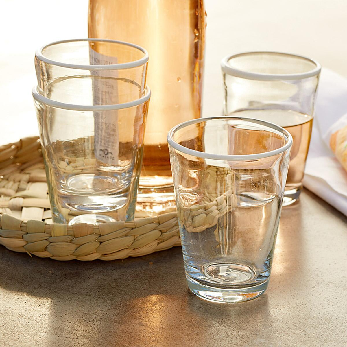 CLOUD RIM TUMBLERS, SET OF 4: View 2