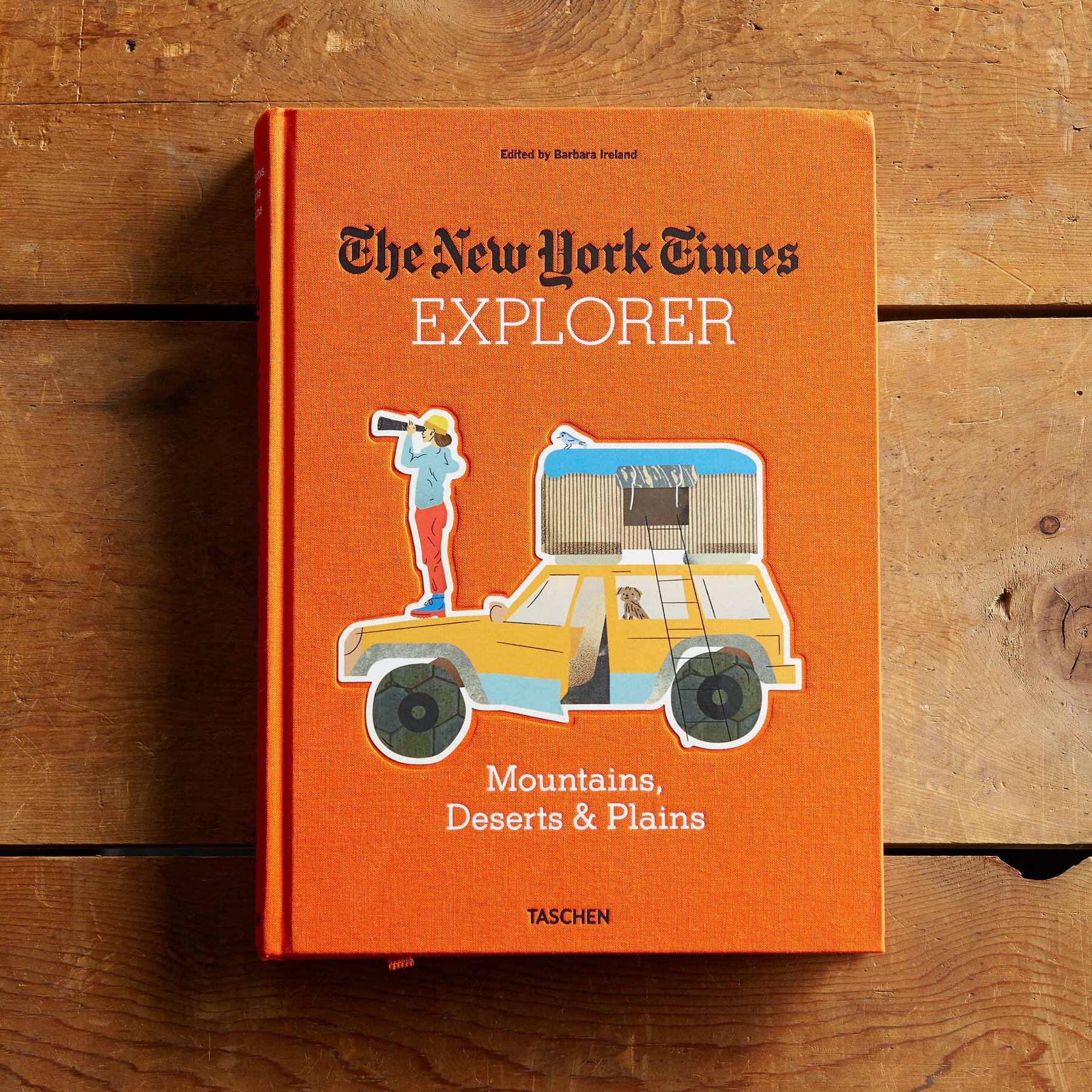 THE NEW YORK TIMES EXPLORER MOUNTAINS, DESERTS & PLAINS BOOK: View 1