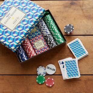 RIDLEY'S® GAMES ROOM POKER SET