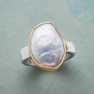 GRACE AND VIRTUE PEARL RING
