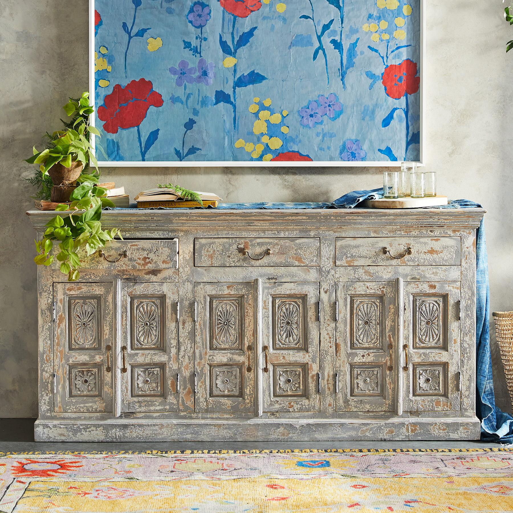 Ansel large console - Sundance Catalog Home Decor + A Few of My Artisan Favorite Things!
