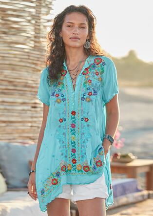 15b63a6f1 Women's Tops - Shirts & Blouses | Robert Redford's Sundance Catalog