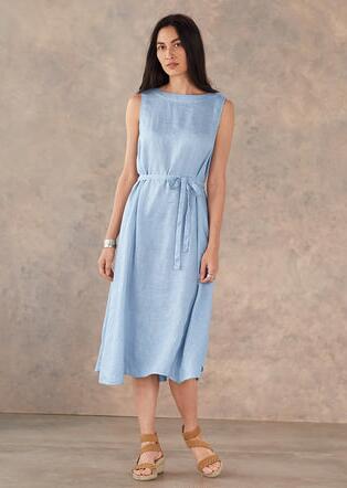 c6f204ba94 MADALENA LINEN DRESS