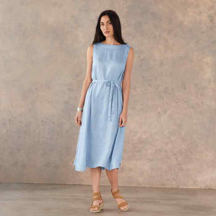 MADALENA LINEN DRESS