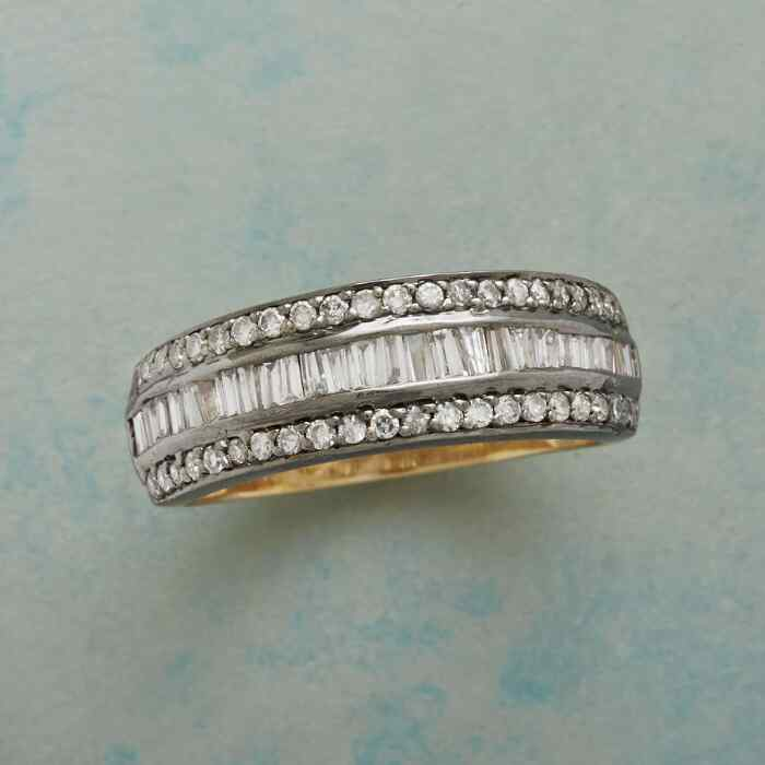 ARC OF DIAMONDS RING