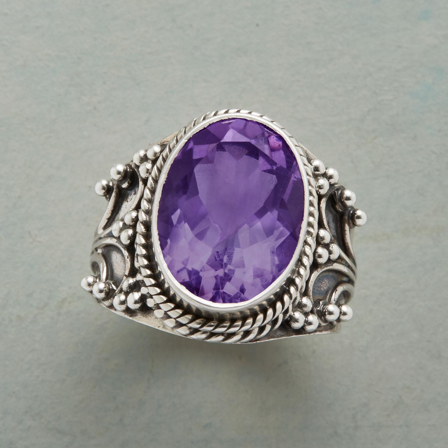 ARIENNE AMETHYST RING: View 1