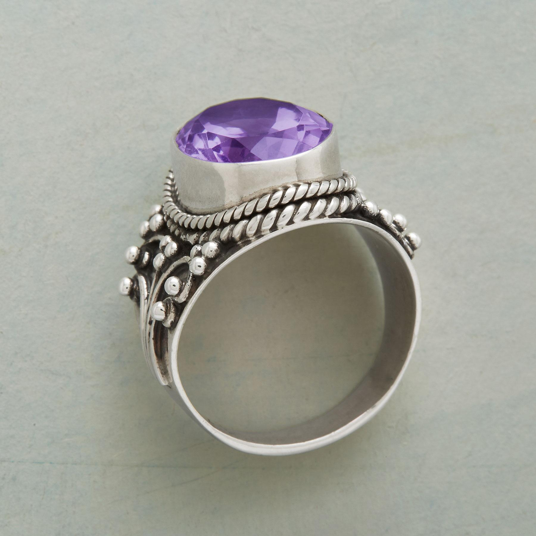 ARIENNE AMETHYST RING: View 2