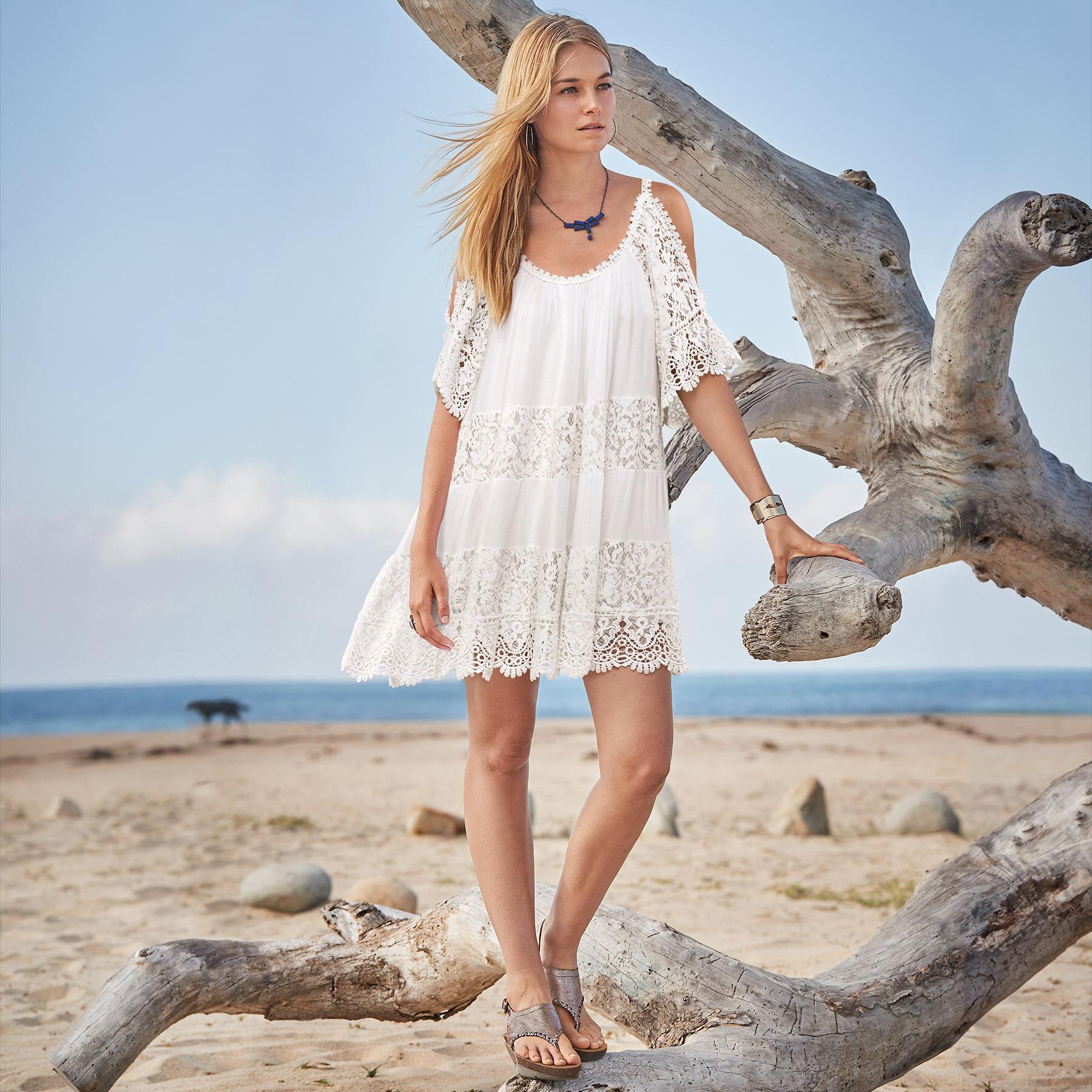 LUNA SONG DRESS: View 1