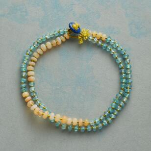 RENEE GARVEY'S CITRUS SILK BRACELET