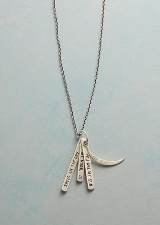 MESSAGES OF LOVE NECKLACE