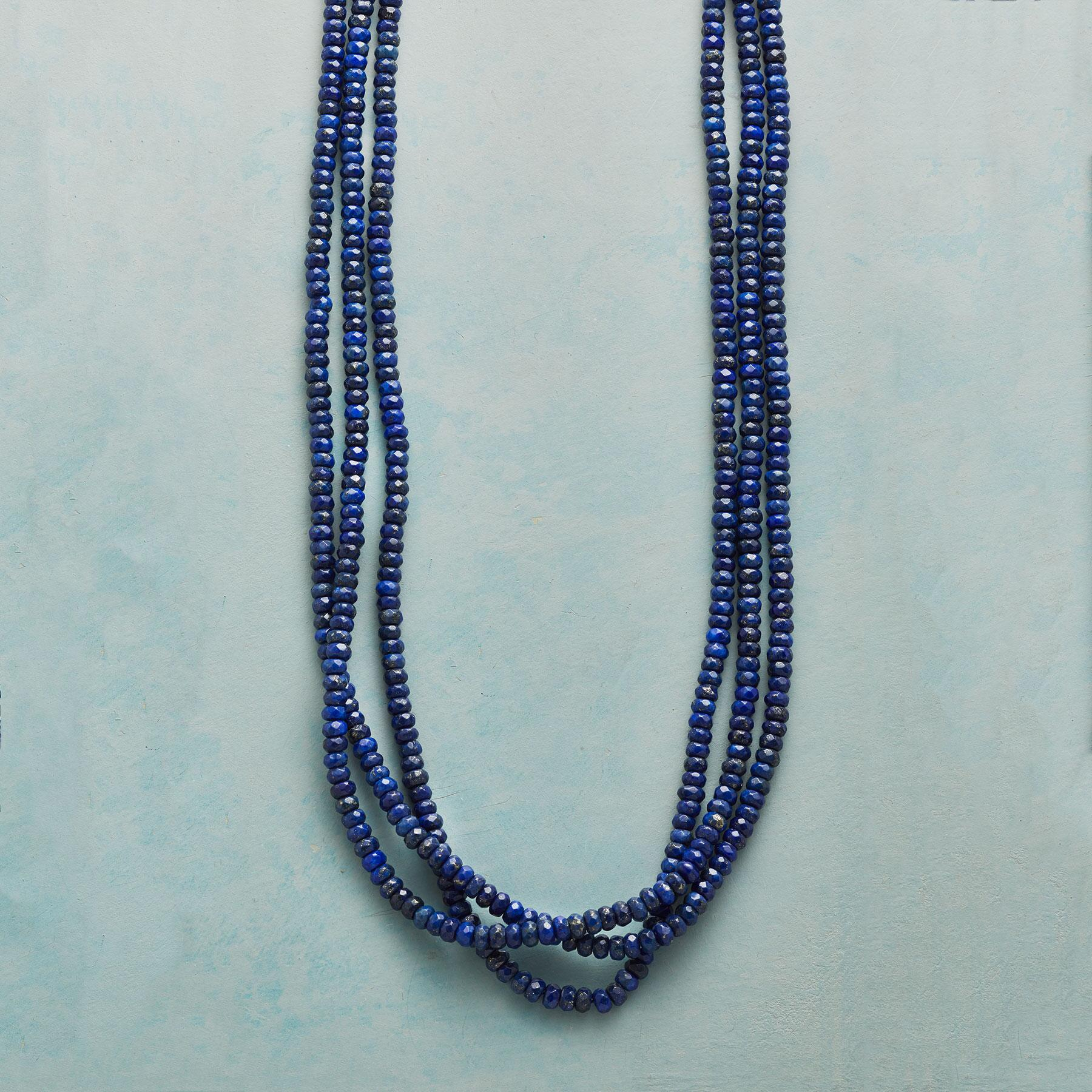 LAND OF LAPIS NECKLACE: View 1