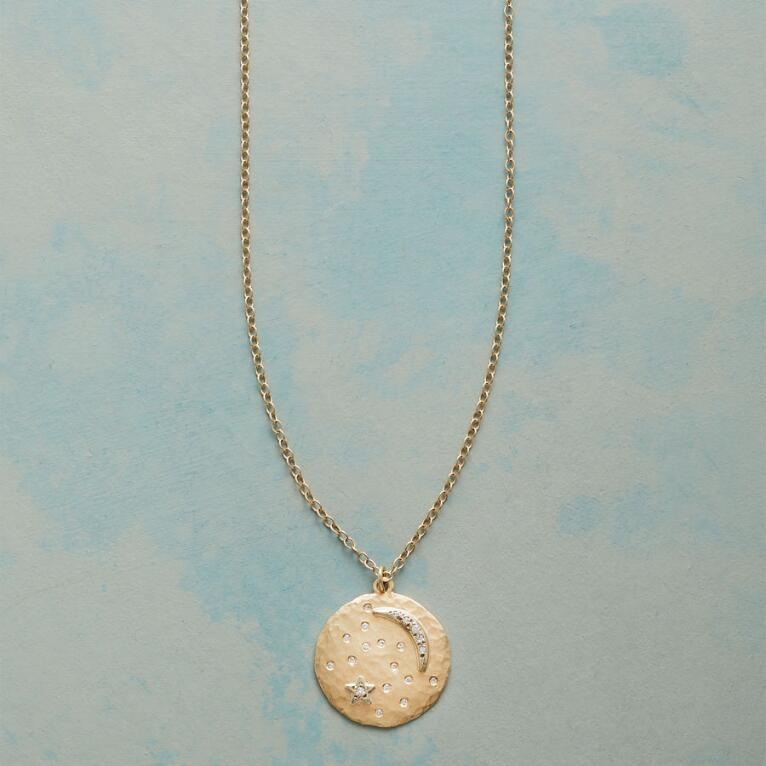 MOON DISK NECKLACE