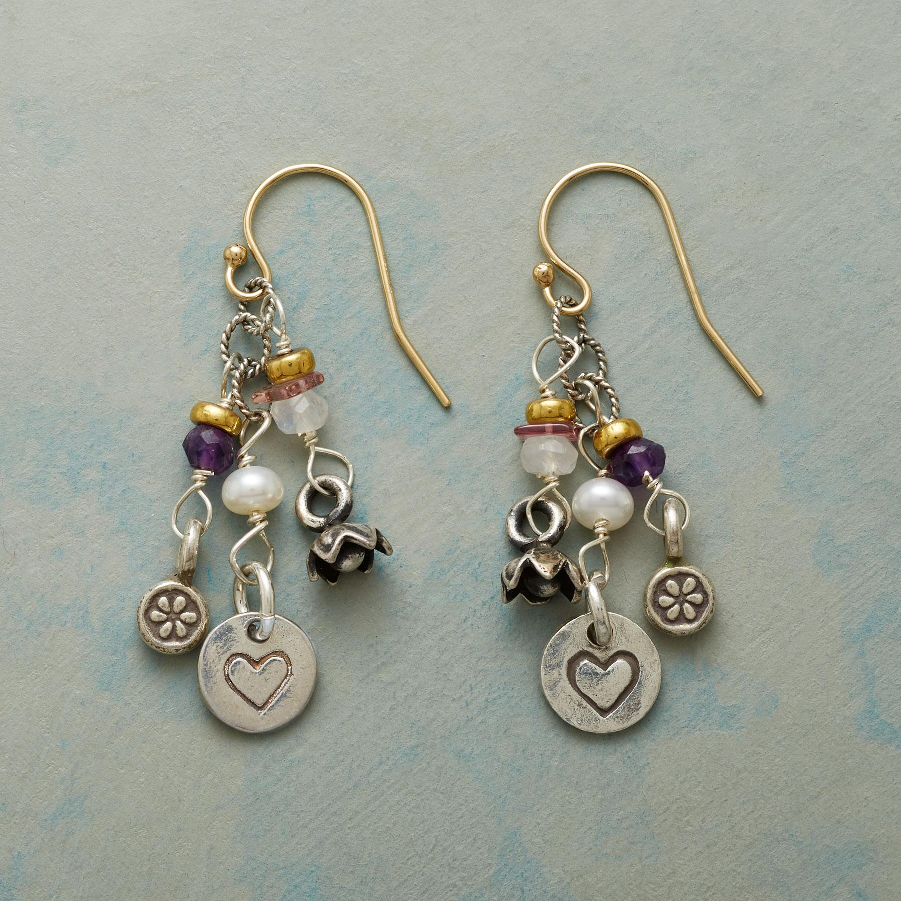 SHOWERED WITH LOVE EARRINGS: View 1