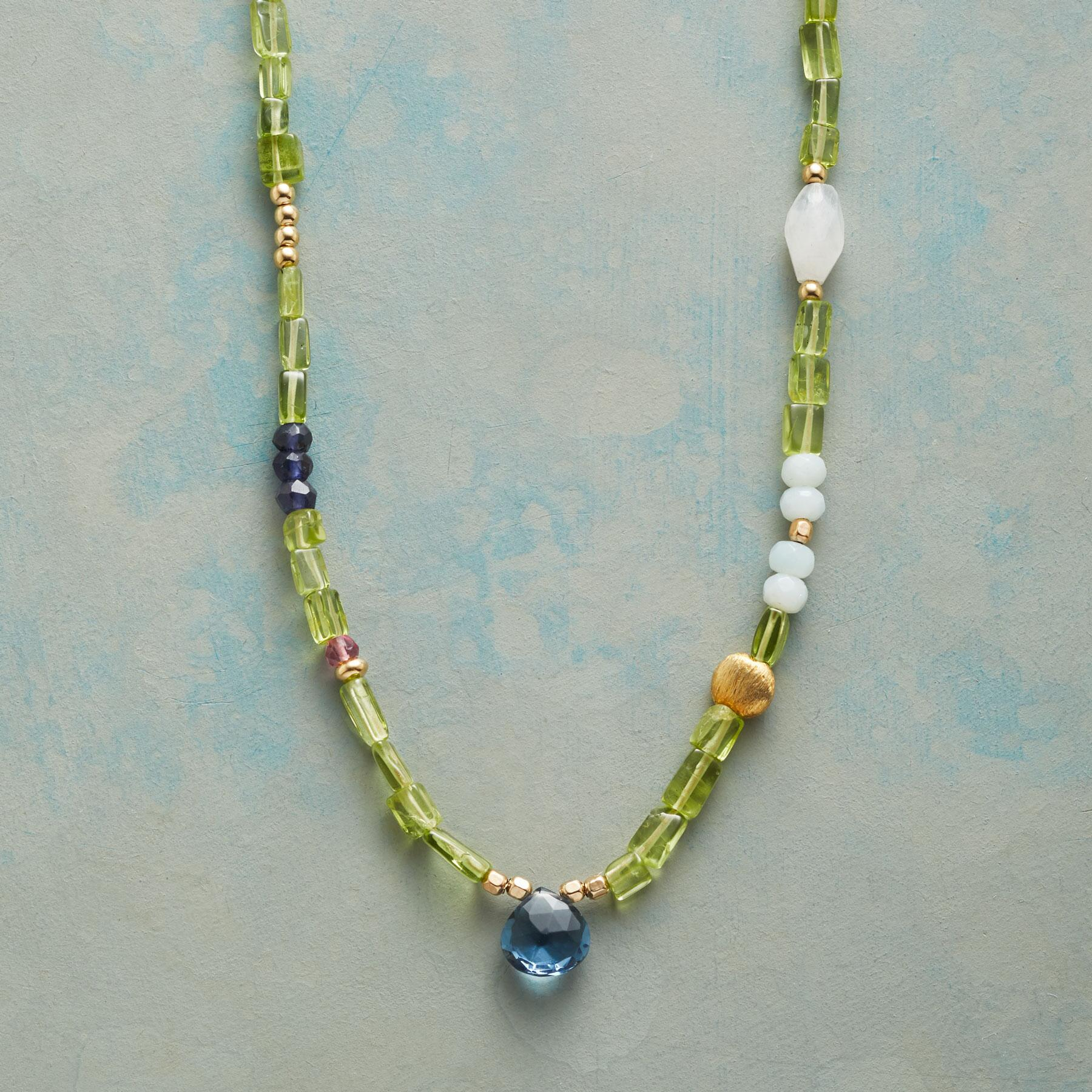 PERIDOT PATHWAY NECKLACE: View 1