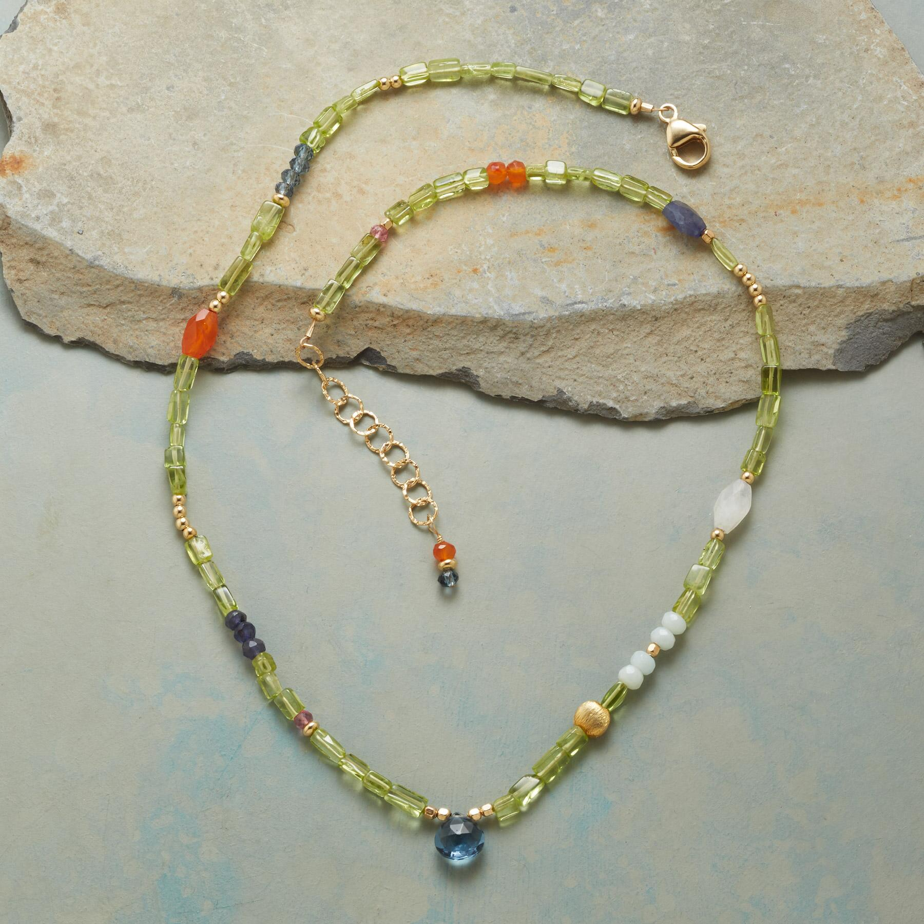 PERIDOT PATHWAY NECKLACE: View 2