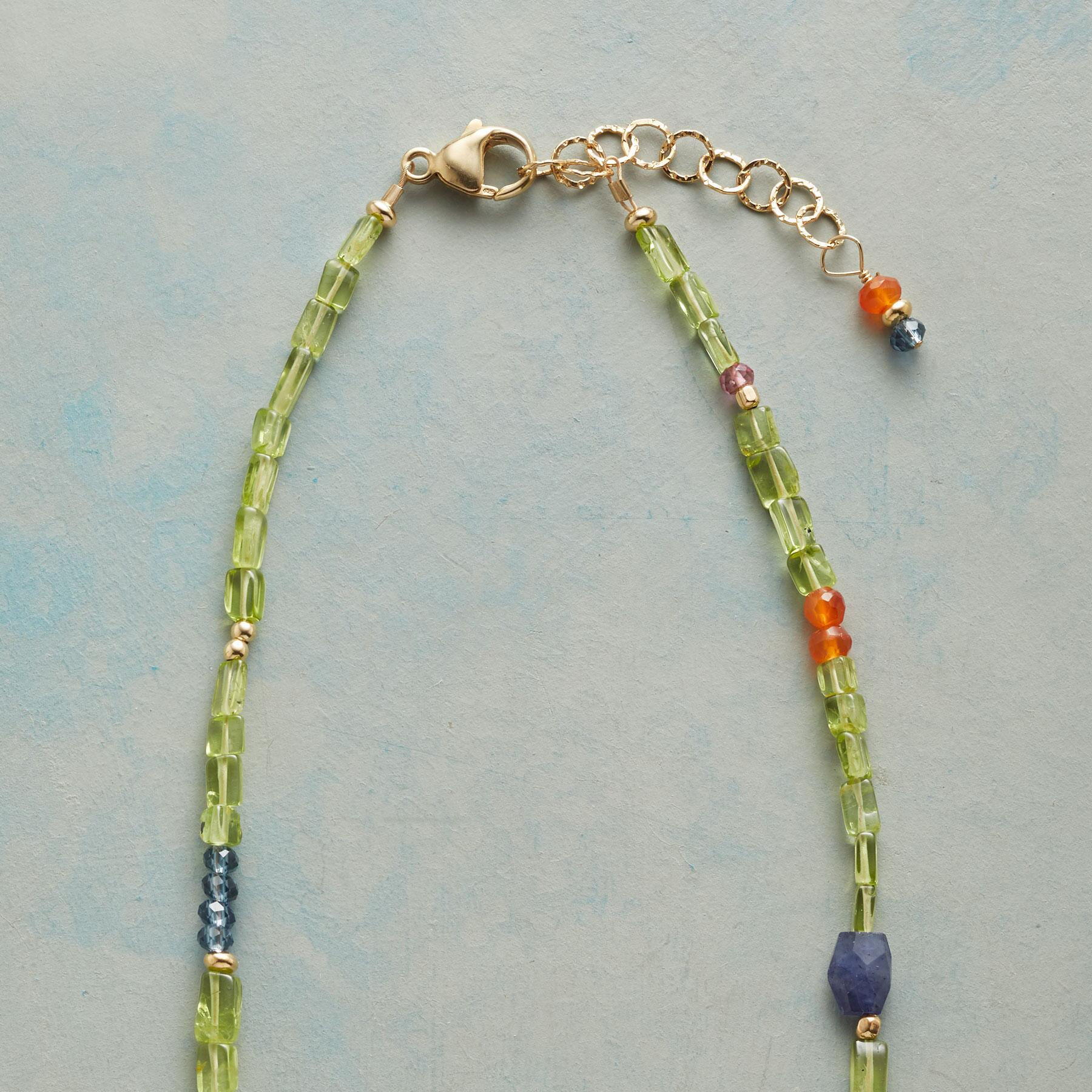 PERIDOT PATHWAY NECKLACE: View 3
