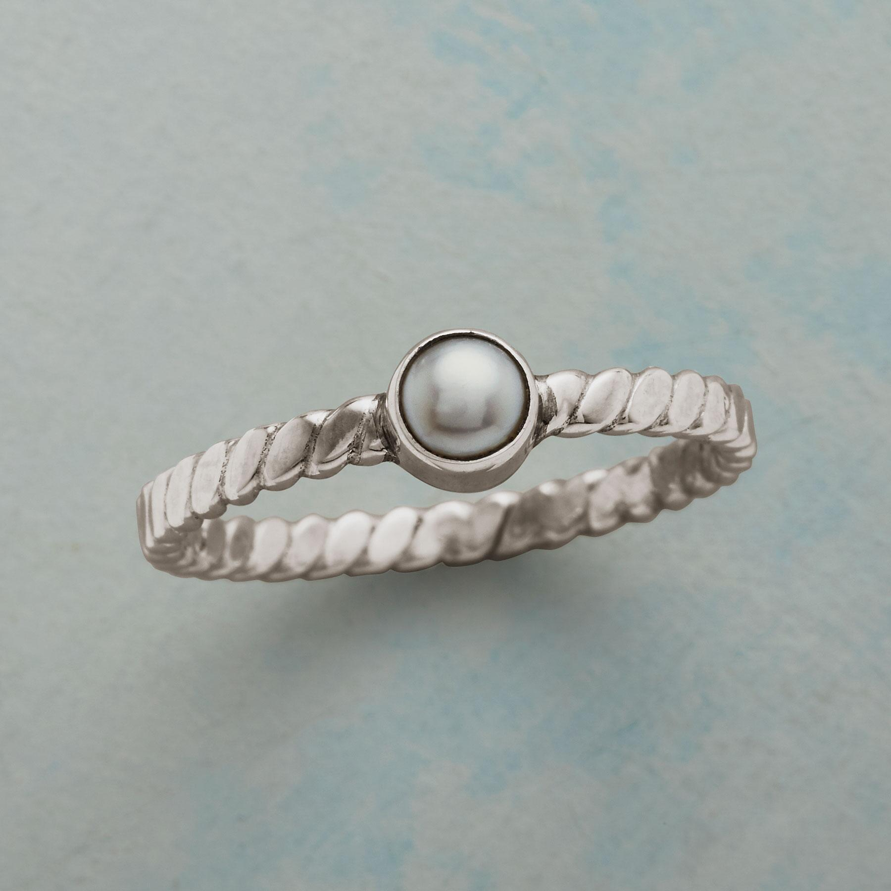 POINTEDLY PEARL RING: View 1