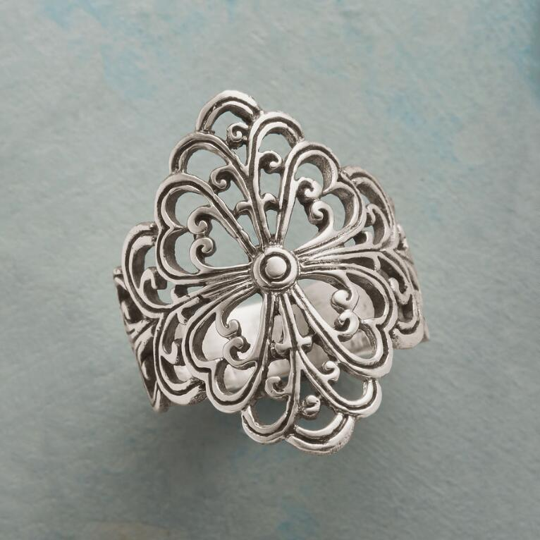 BAROQUE STERLING RING