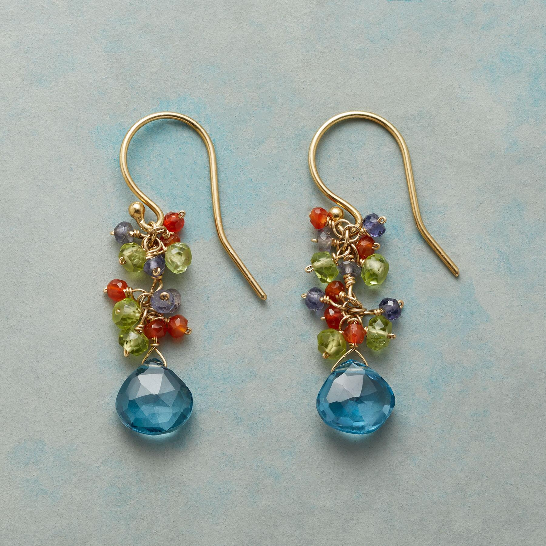 TOPAZ WINDFALL EARRINGS: View 1