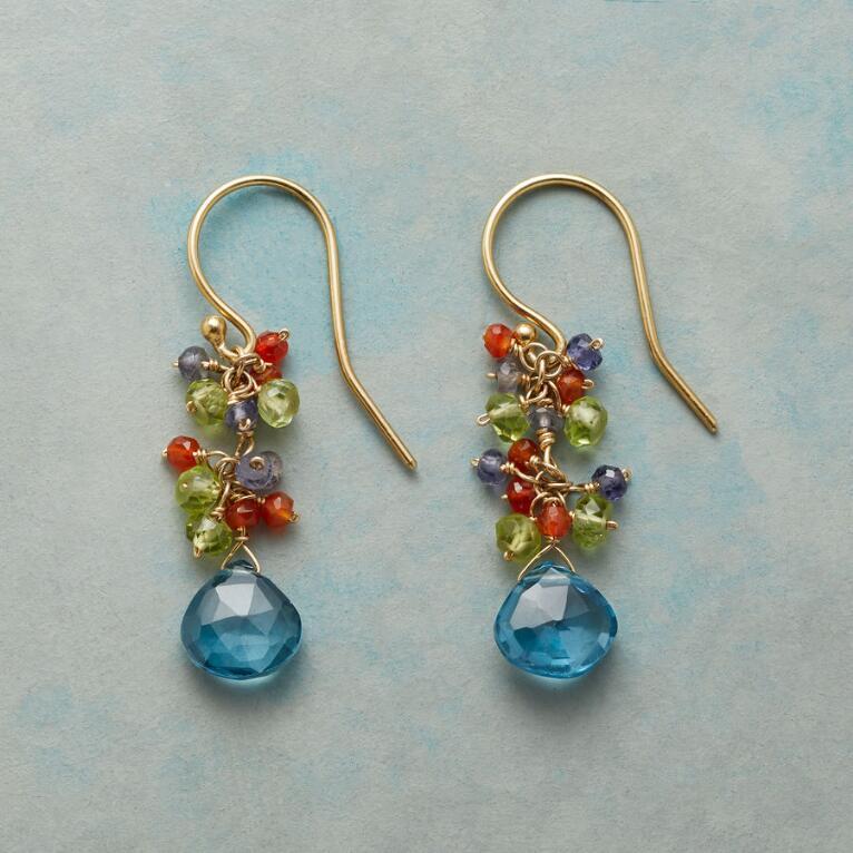TOPAZ WINDFALL EARRINGS