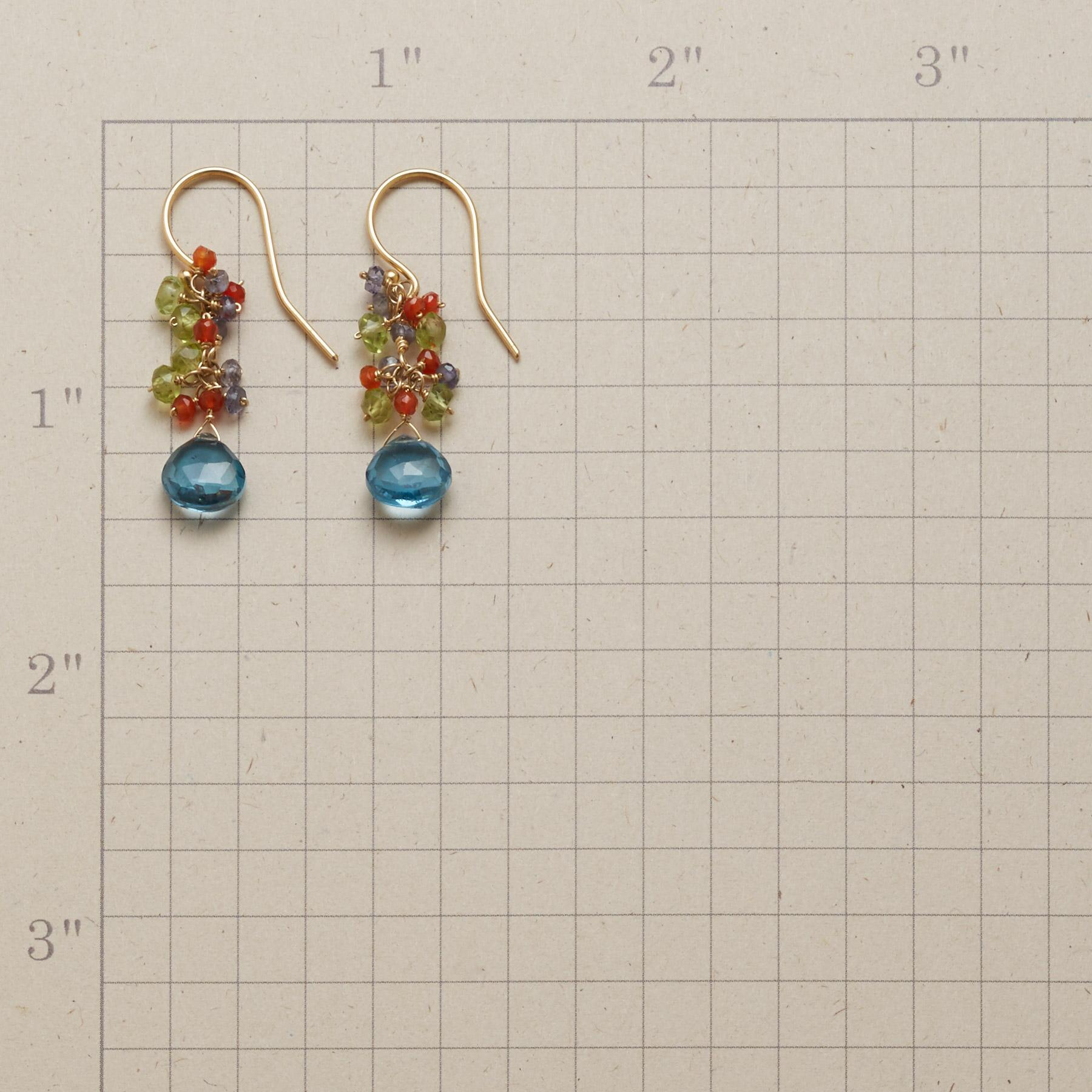 TOPAZ WINDFALL EARRINGS: View 2