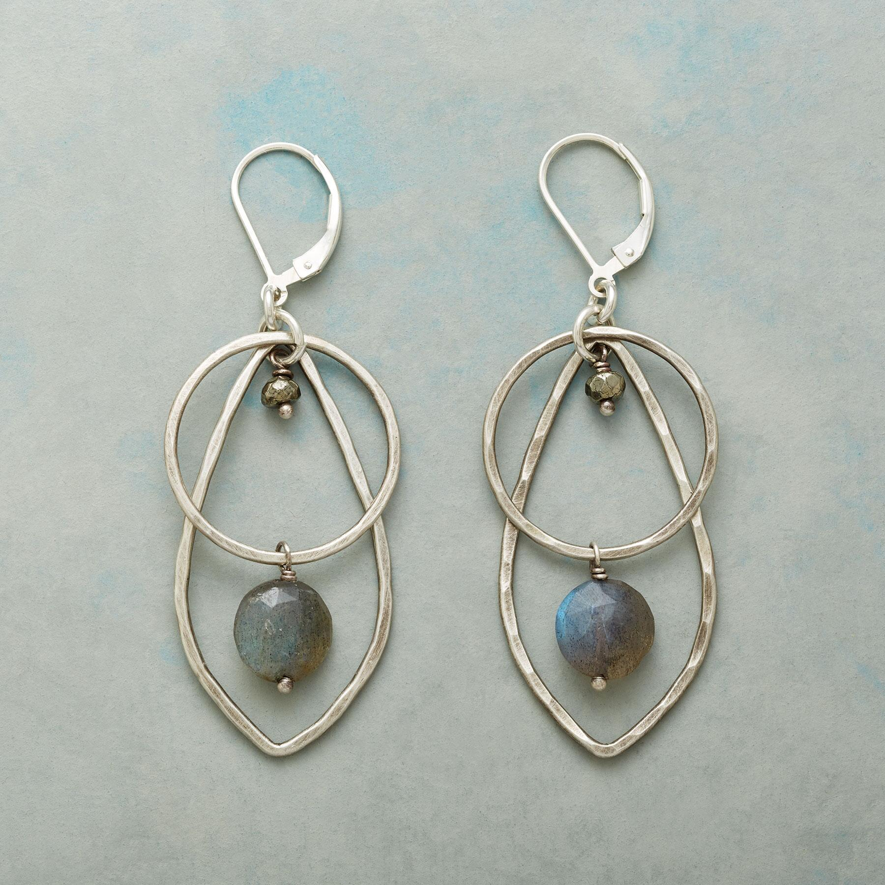 VIEW OF THE STORM EARRINGS: View 1