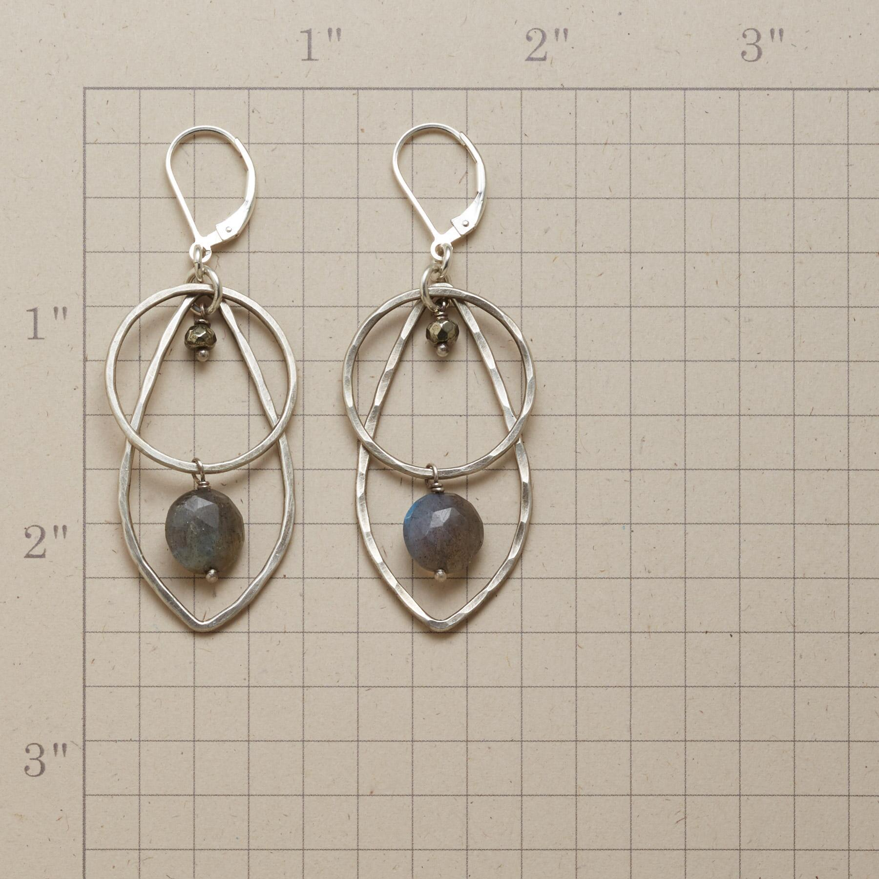 VIEW OF THE STORM EARRINGS: View 2