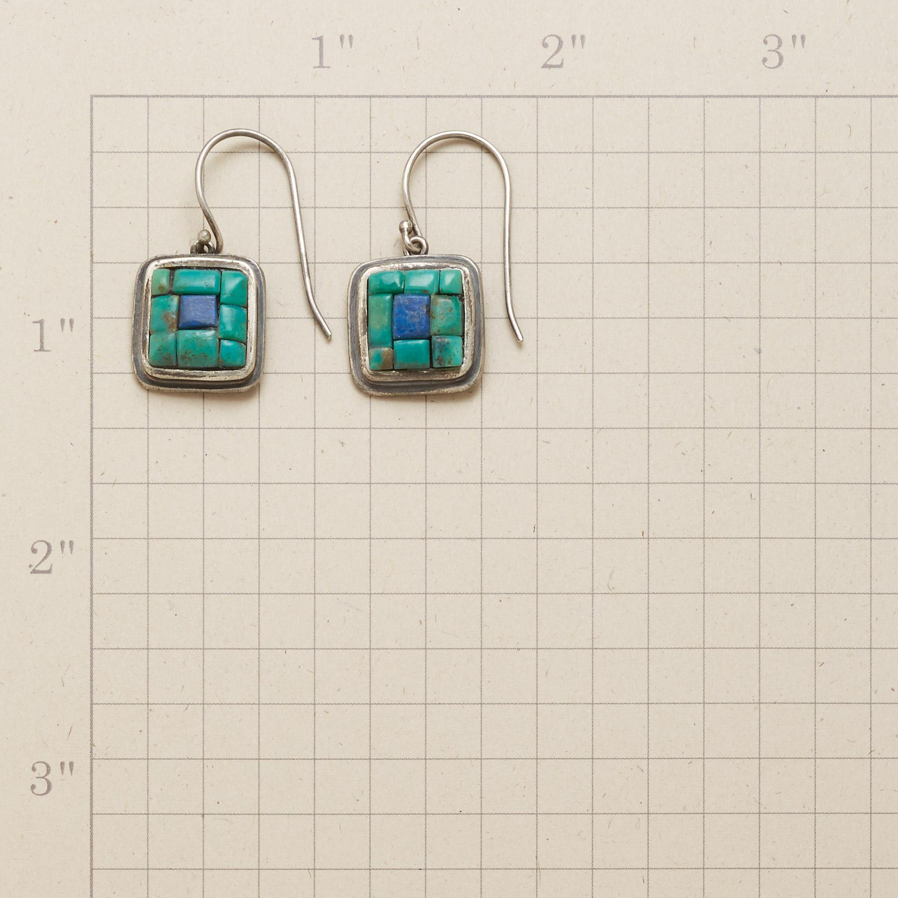 CENTRAL SQUARE EARRINGS: View 2