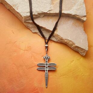 SACRED DRAGONFLY NECKLACE