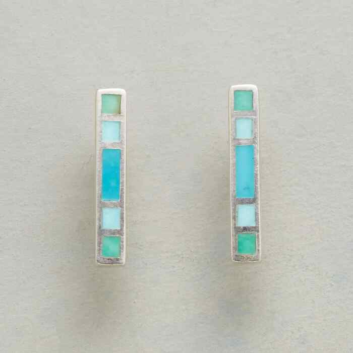 BLUE SPECTRUM EARRINGS