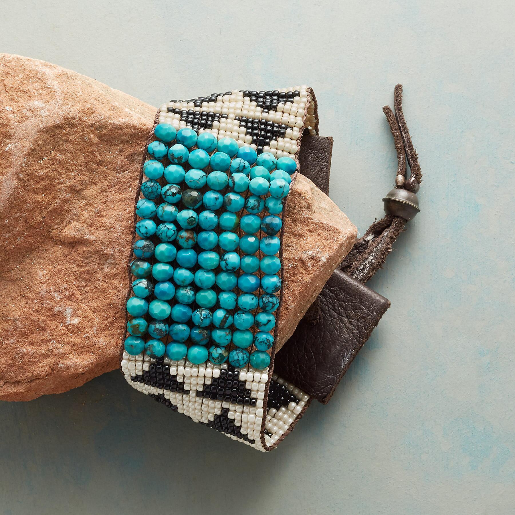 Naomi Herndon Bandelier beaded bracelet from Sundance Catalog