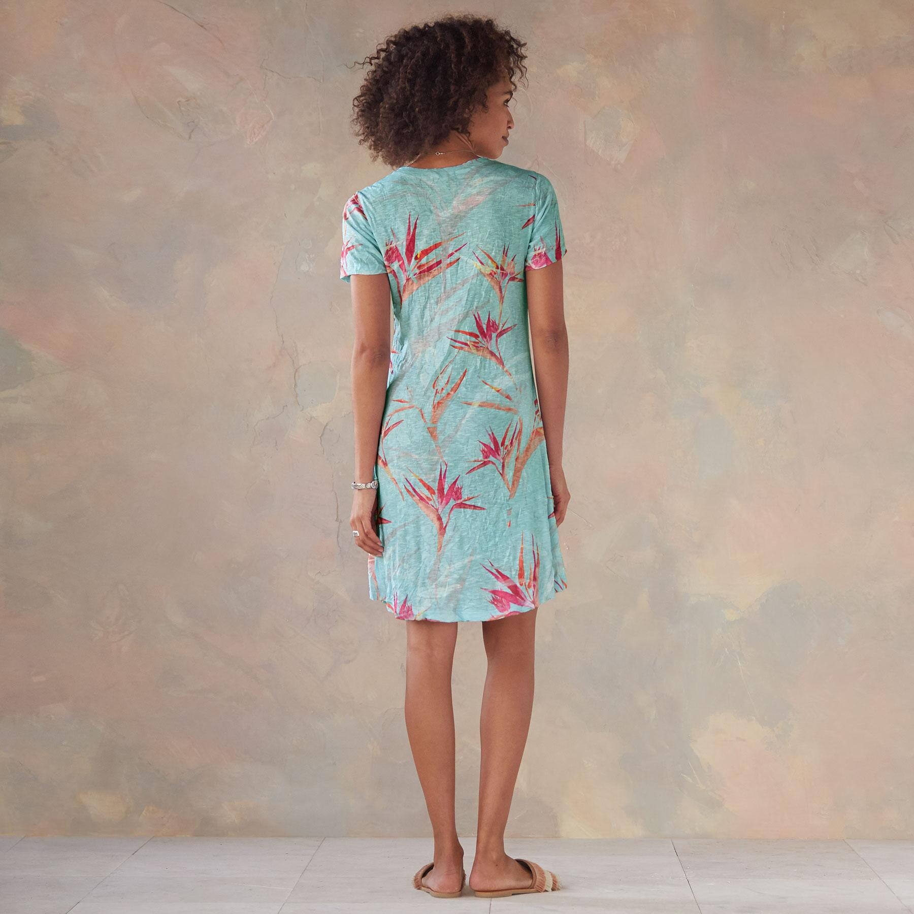 BIRDS OF PARADISE DRESS: View 2