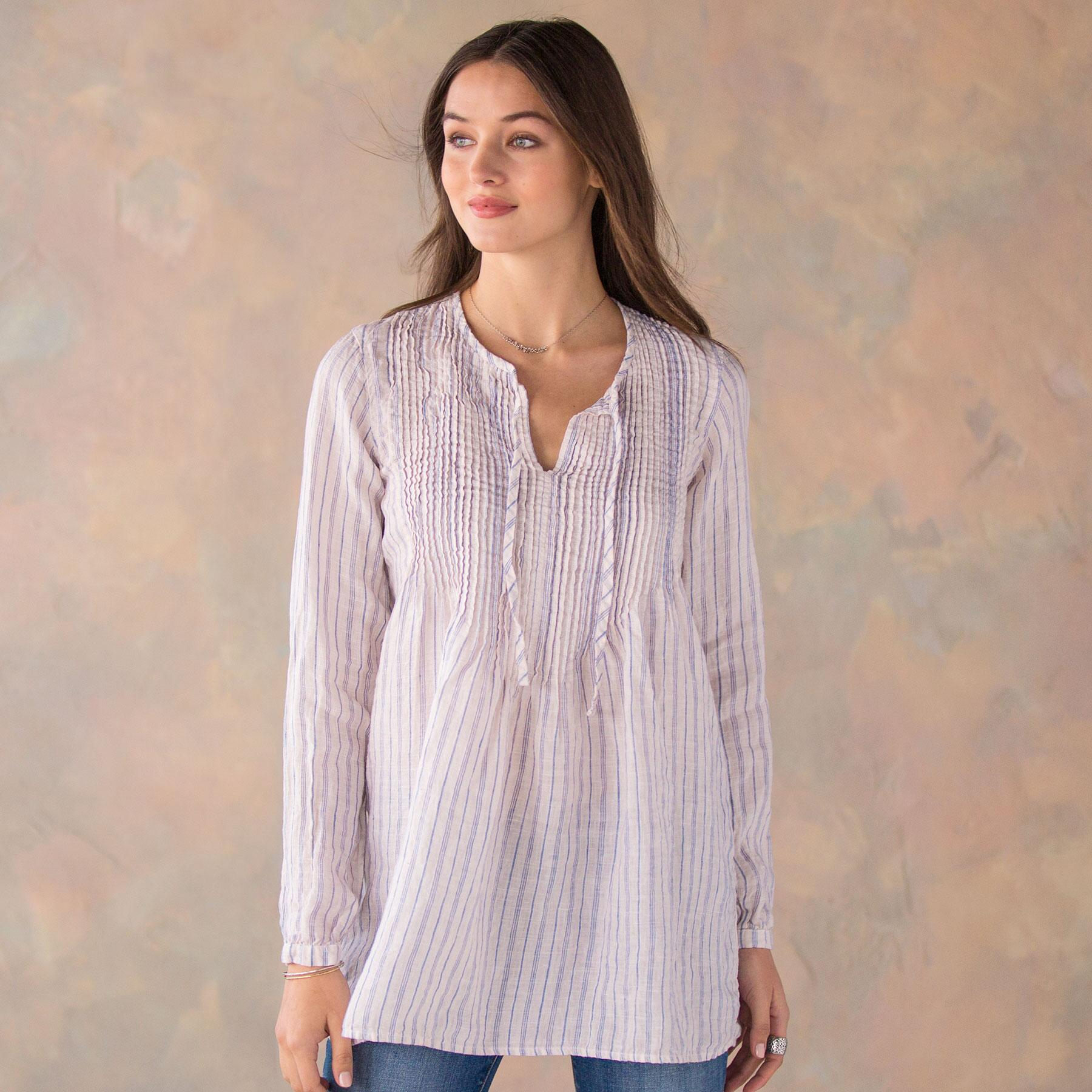 d93436ab02 ANGEL STRIPED TOP  View 1