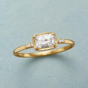 KARINA WHITE SAPPHIRE RING