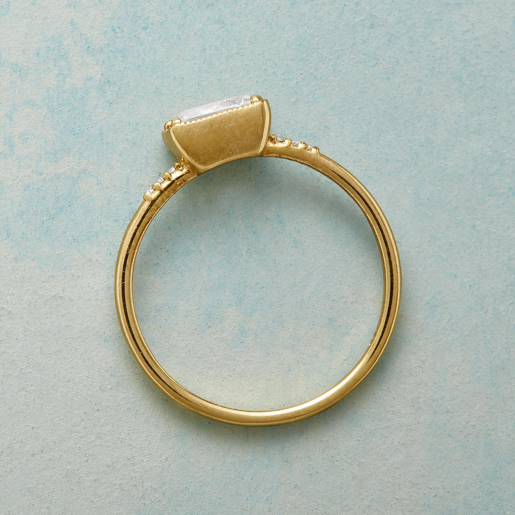 KARINA WHITE SAPPHIRE RING: View 2