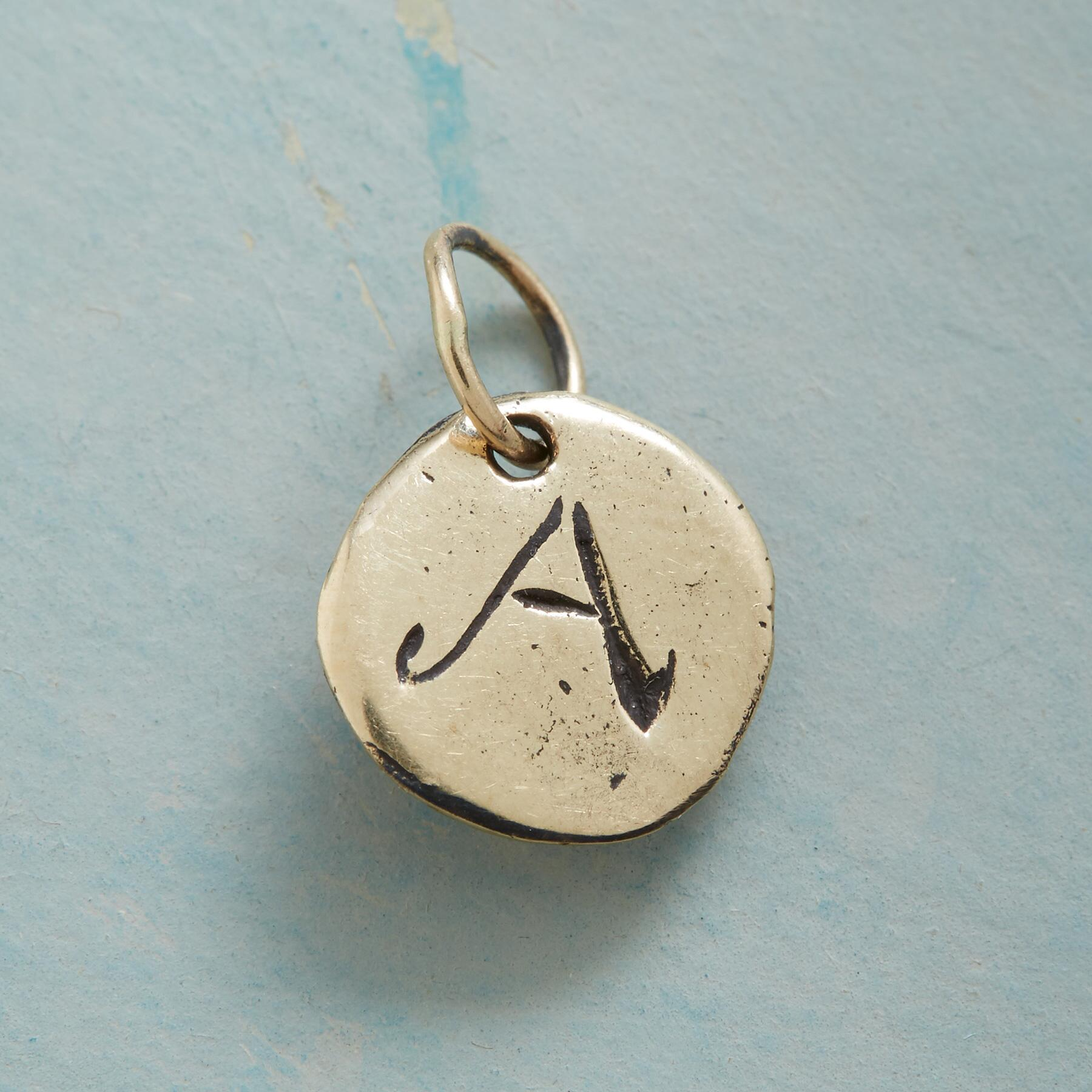 GOLD LETTERS OF LOVE CHARM: View 1