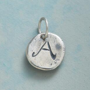 STERLING SILVER LETTERS OF LOVE CHARM