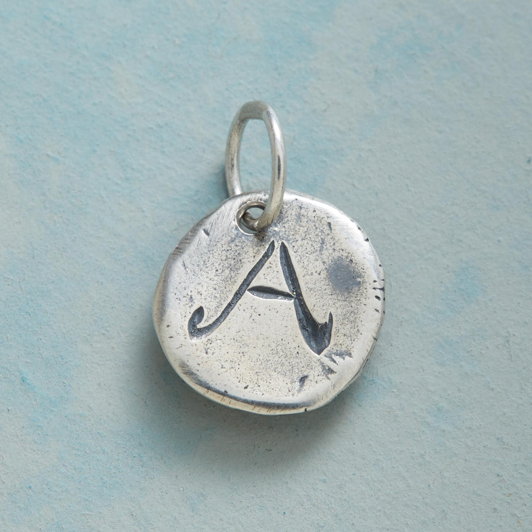STERLING SILVER LETTERS OF LOVE CHARM: View 1
