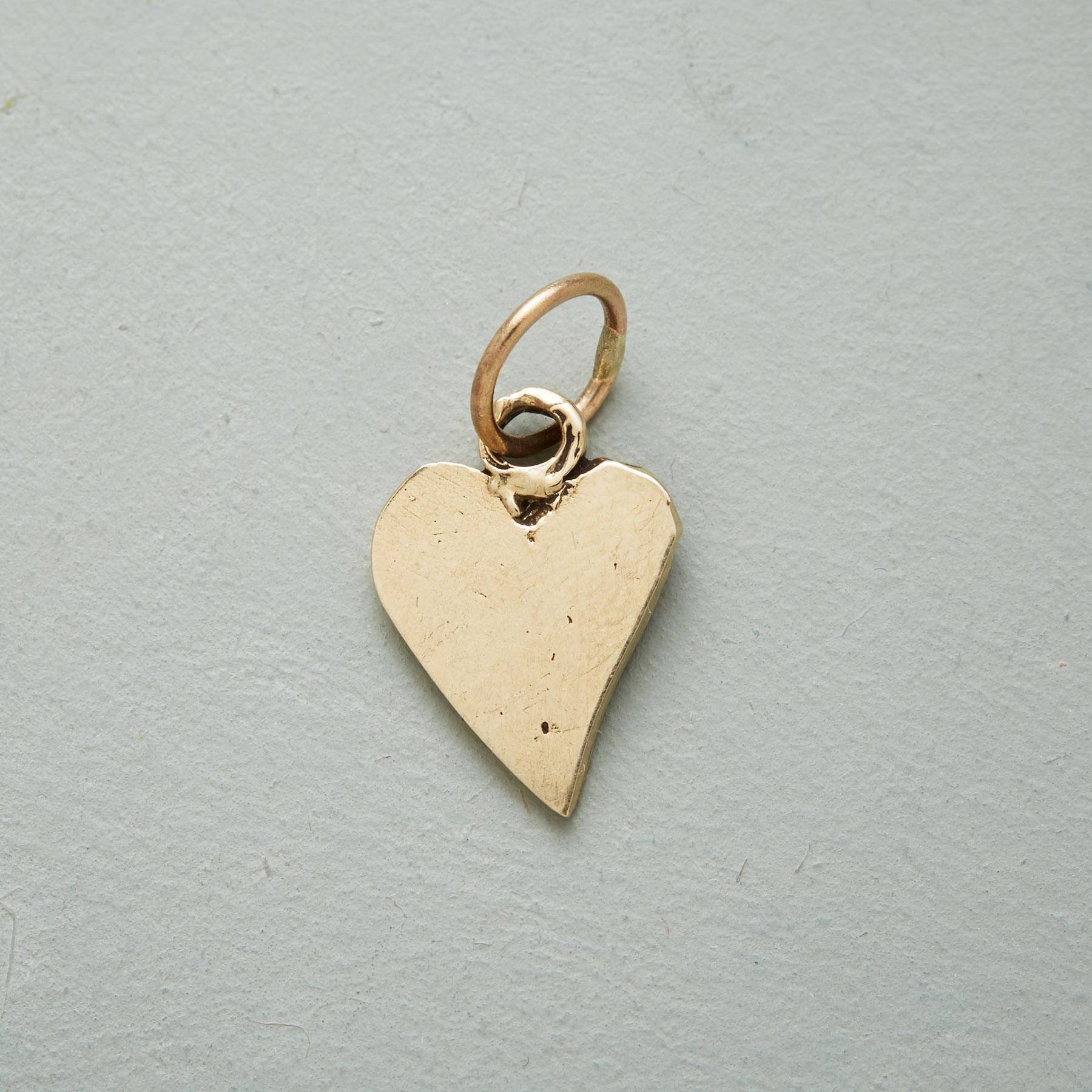 GOLD LOVE & HONOR CHARM: View 2