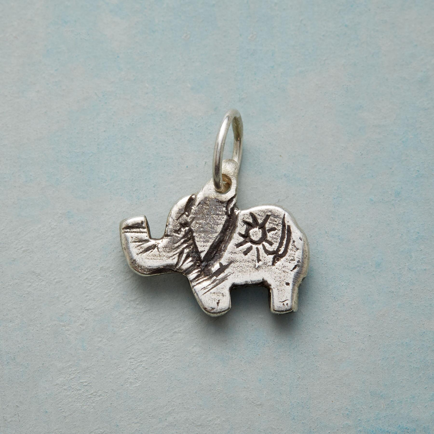 STERLING SILVER SWEET ELEPHANT CHARM: View 1