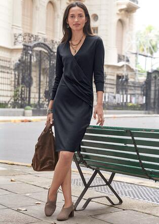 CLASSIC TWIST DRESS