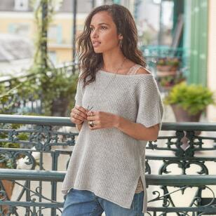 MURIEL CASHMERE PULLOVER