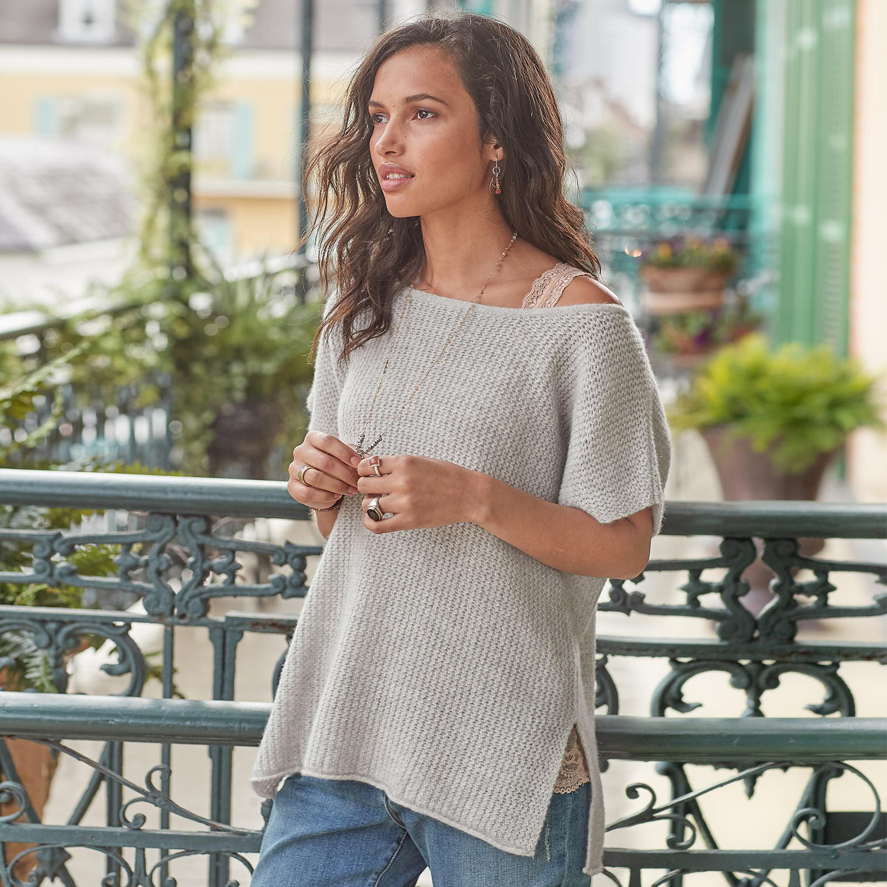 MURIEL CASHMERE PULLOVER: View 1