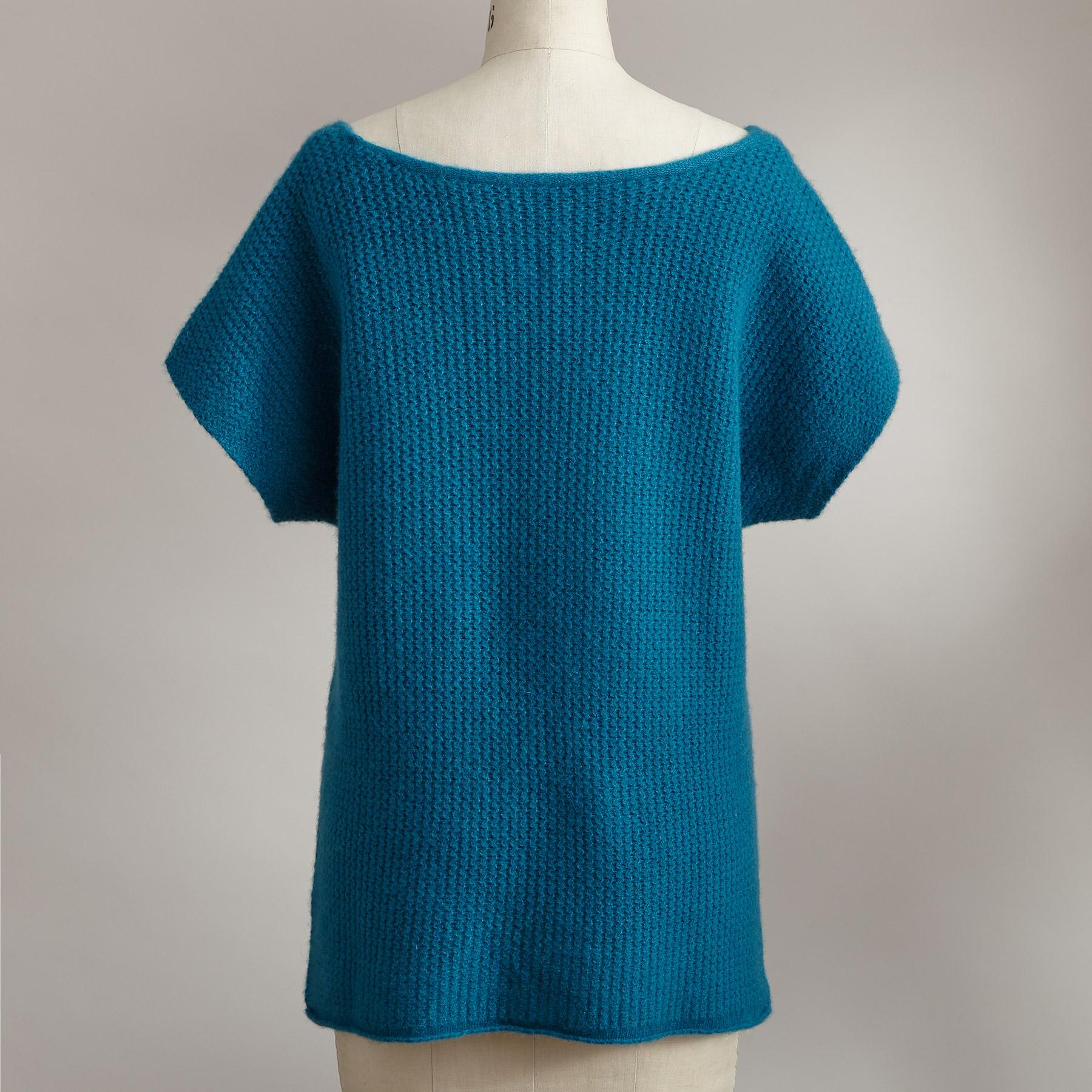 MURIEL CASHMERE PULLOVER: View 2
