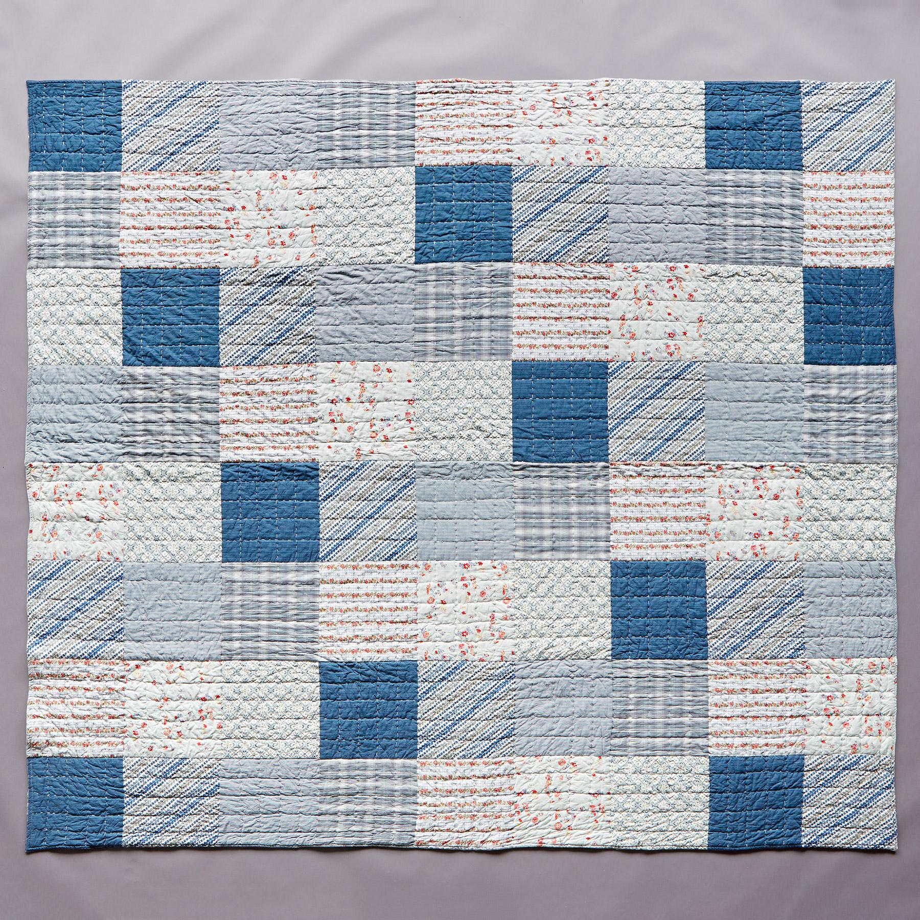 ELEANOR PATCHWORK QUILT: View 2