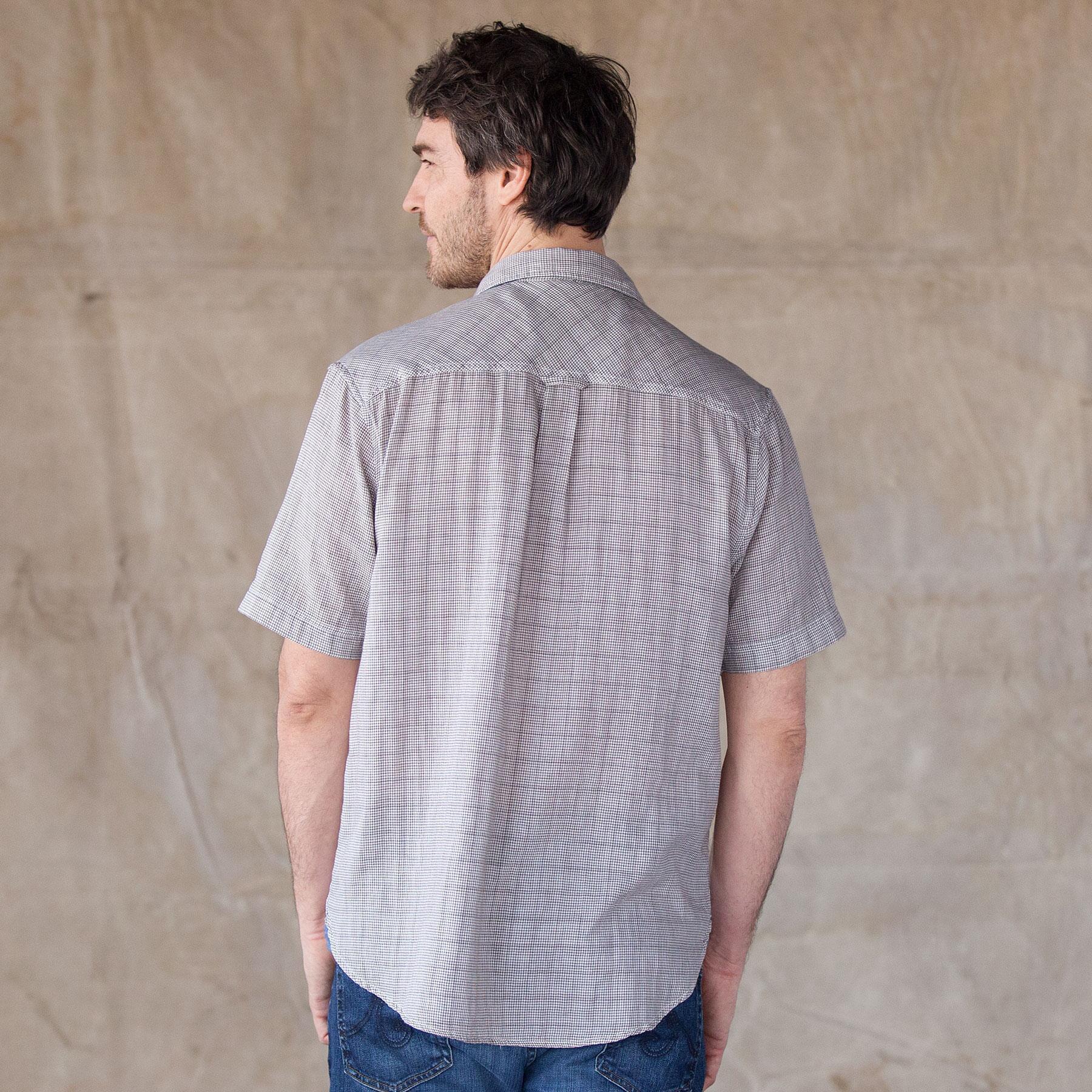 WAYNE DOUBLE CLOTH SHIRT: View 2