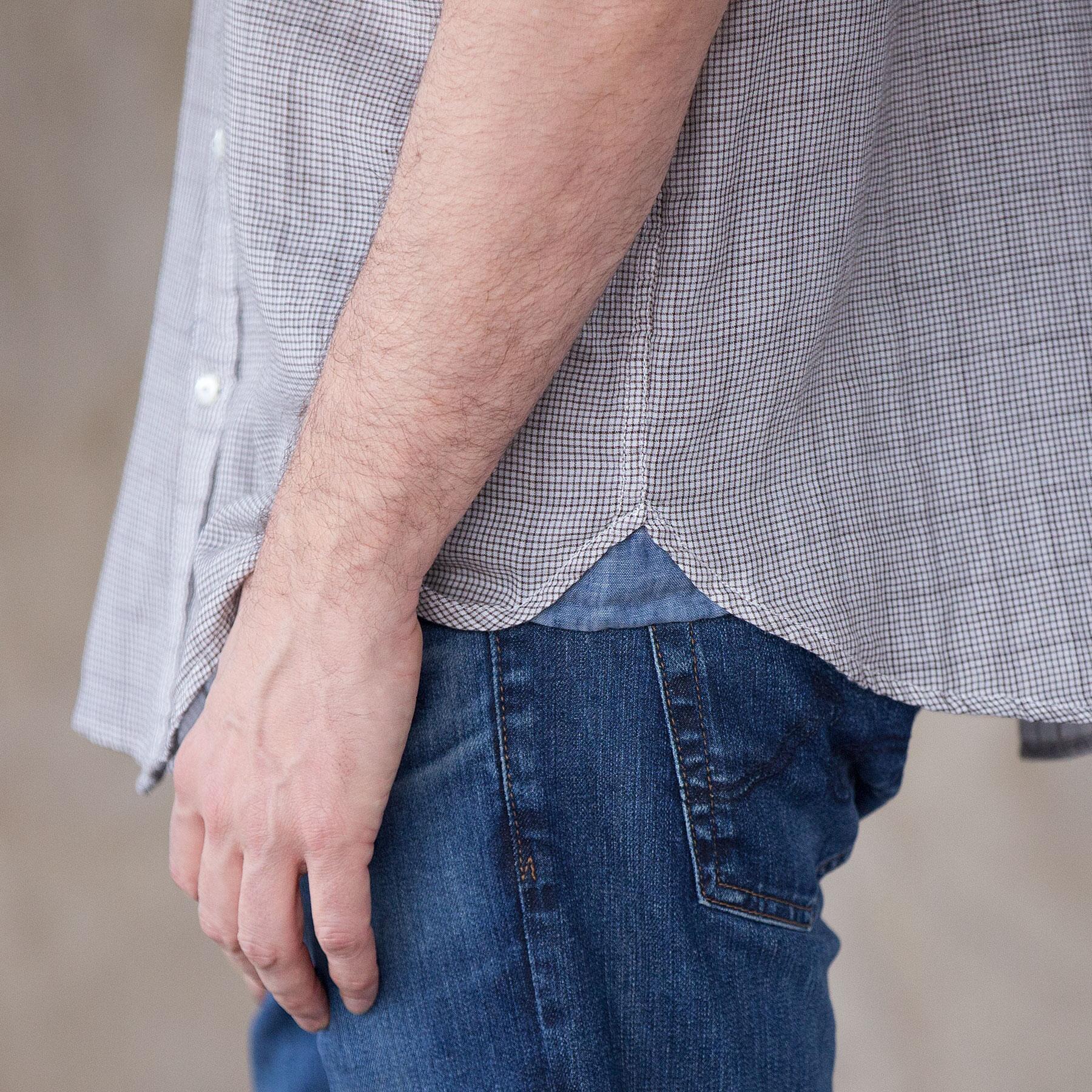 WAYNE DOUBLE CLOTH SHIRT: View 4