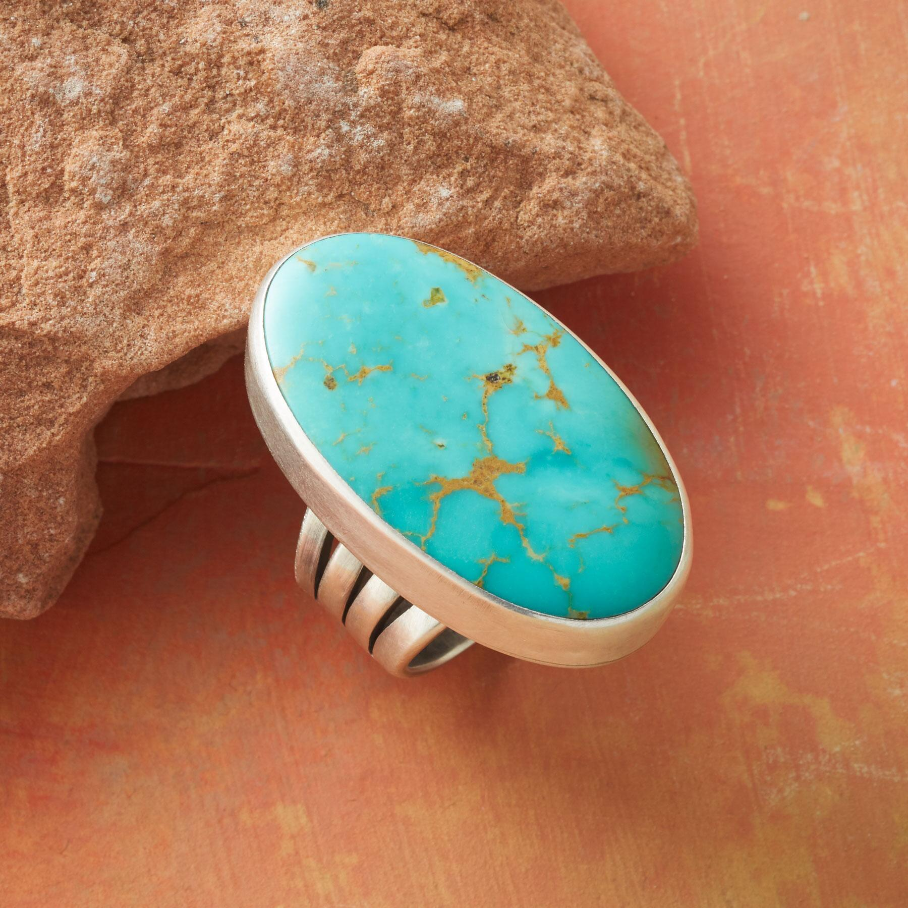 BIG SKY TURQUOISE RING: View 1